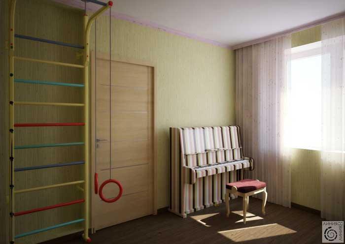 Детская комната после ремонта. Подойдет для ребенка 6,7, 8 лет