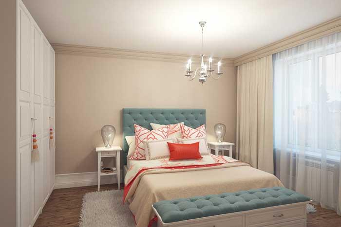 Дизайн интерьера маленькой спальни с мебелью из IKEA