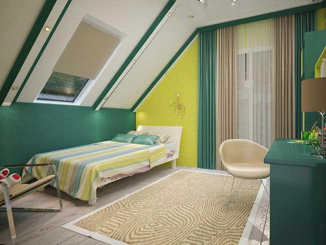 Светла и сочная детская комната для мальчика. Фото 11