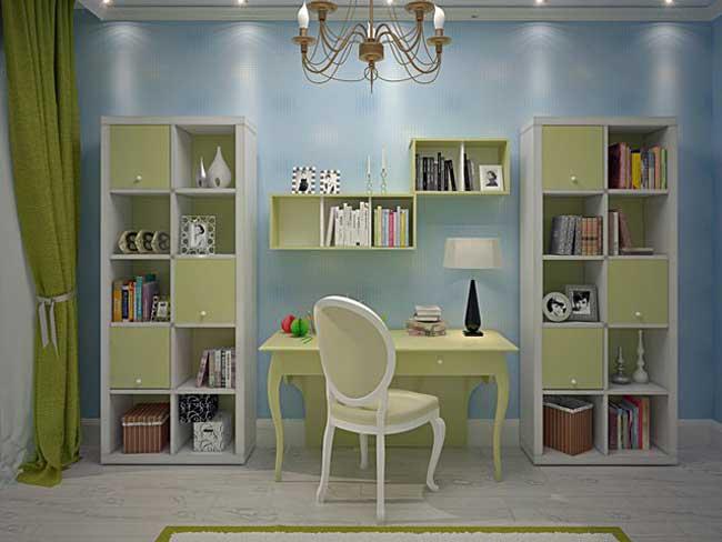 Дизайн маленькой детской спальни. Фото 14