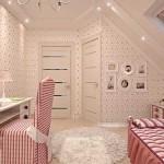 Дизайн обоев в детской комнате. Фото 17