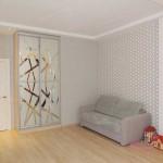 Дизайн детской спальни в стиле минимализм. Фото 2