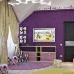 Дизайн детской комнаты для девочки школьного возраста. Фото 22