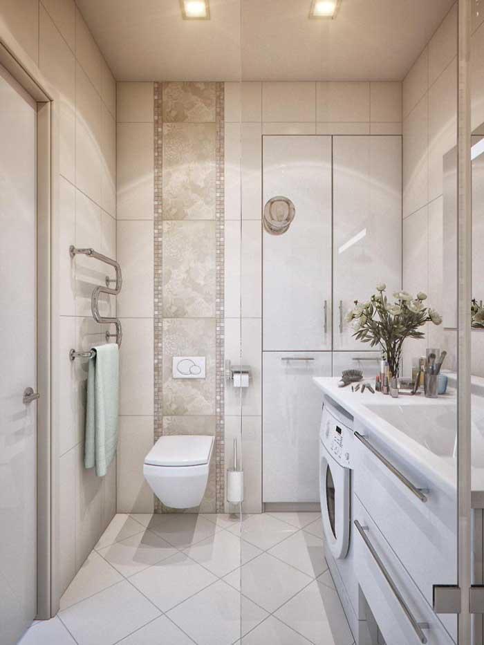 Дизайн санузла в маленькой однокомнатной квартире. Фото 3