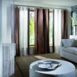 Красивые модные шторы в гостиную. Фото 7