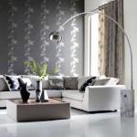 Дизайн штор для гостиной в экостиле. Фото 9