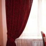 Обычные шторы в комнату. Фото 15
