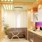 кожаный диван на кухню фото 15