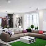 Большой угловой диван на кухне Фото 12