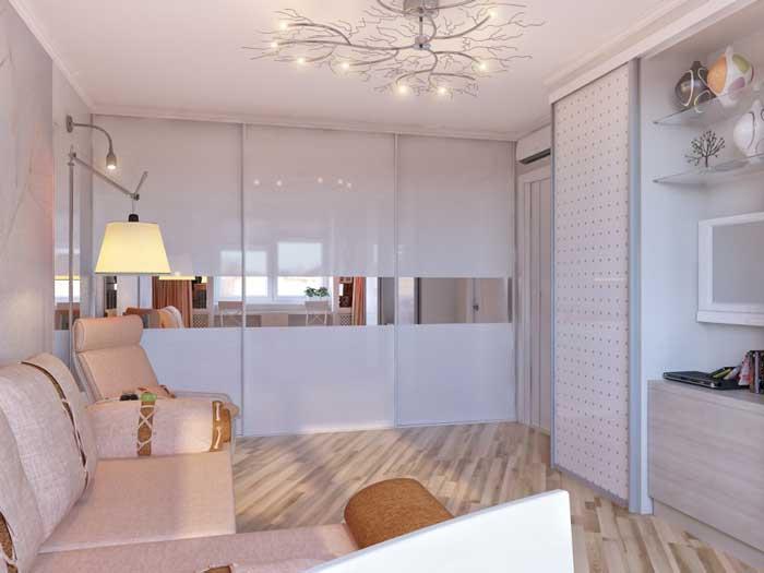 Уютная гостиная 16-18 квадратных метров. Фото 2