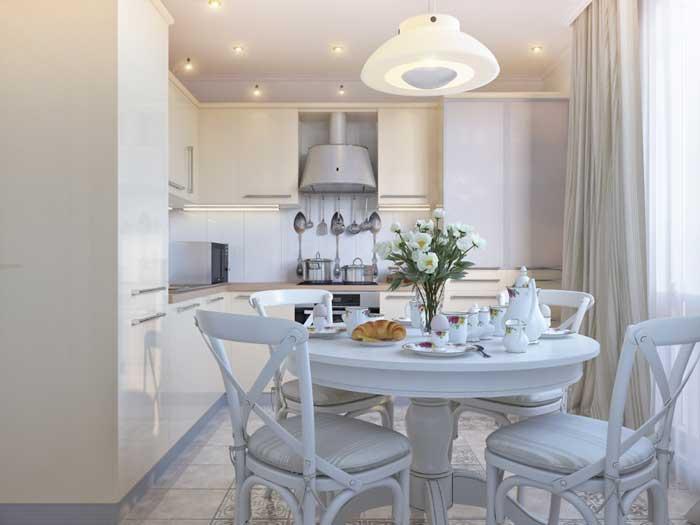 Дизайн современной кухни 10 кв. м. Фото 4