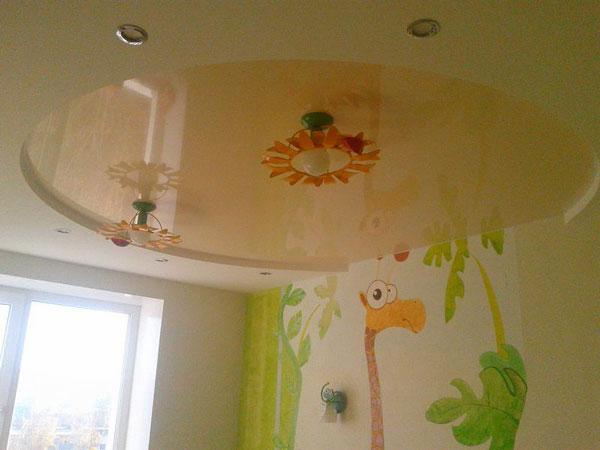 Интерьер детской комнаты после отделки