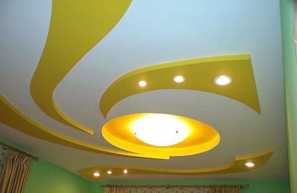 Отделка детской комнаты с гипсокартонным потолком