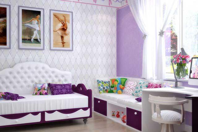 Детская спальня дизайн проект
