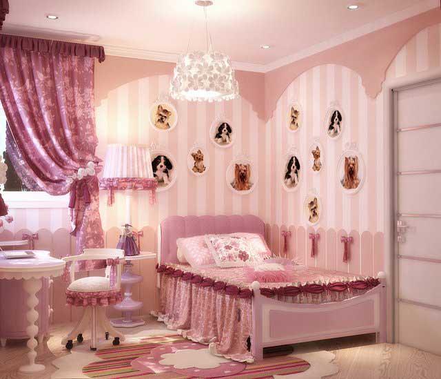 Интерьер комнаты для девочки в хрущевке