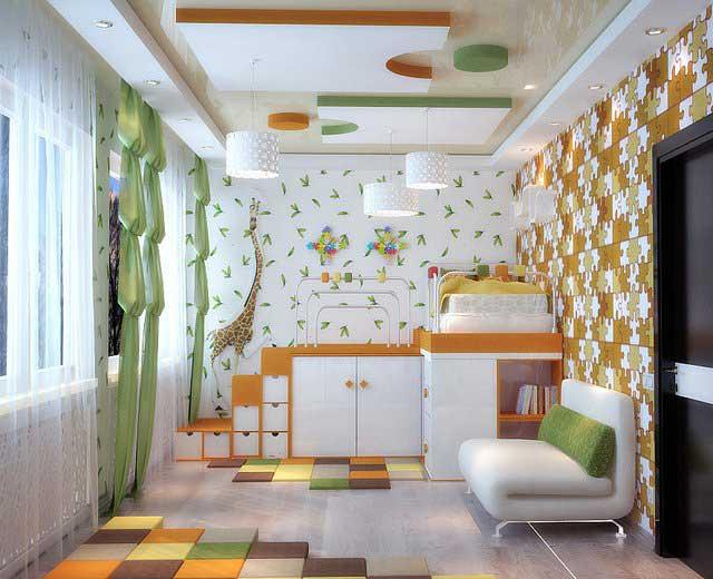 Ремонт комнаты для мальчика 6-8 лет