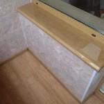Внутренняя отделка балкона пластиковыми панелями. Фото