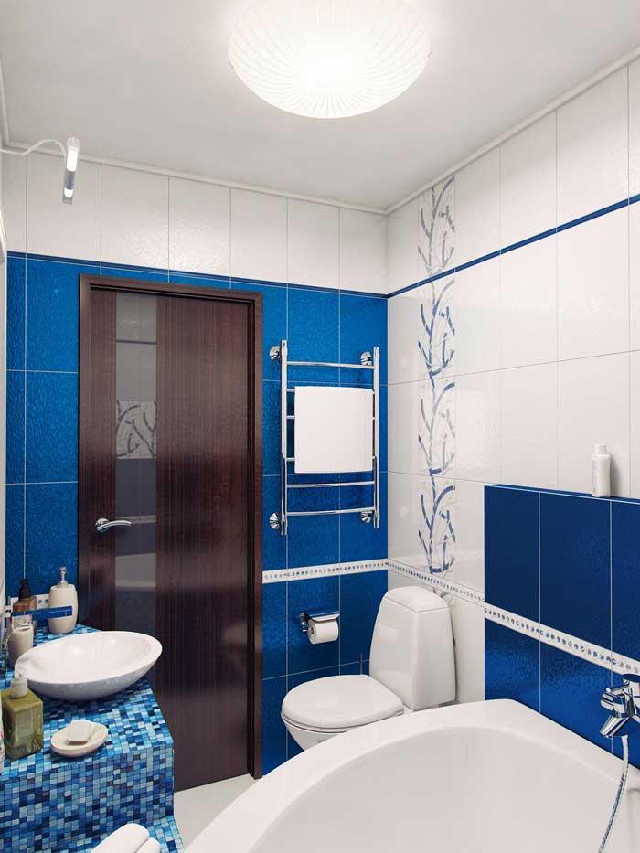 Потолок в ванной комнате. Потолочный светильник. Фото 15