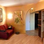 Красивая арка из гипсокартона между комнатами