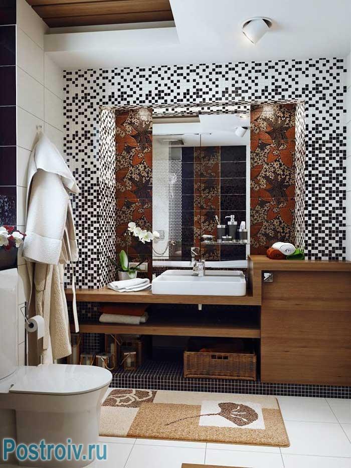 Ванная комната с хорошим освещением