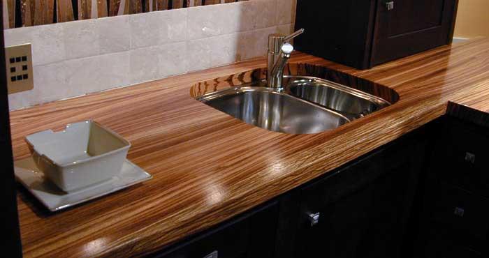 Кухня, столешница цвета венге. фото 24