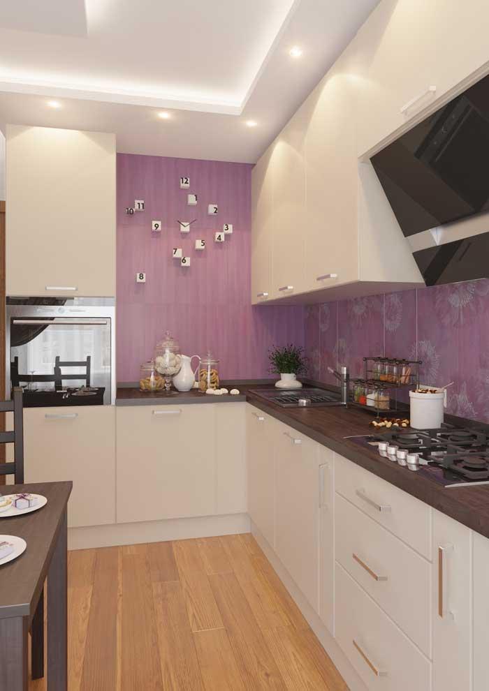 Красивая идея для кухни 12 кв метров. Фото 5
