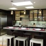 Дизайн кухни с барной стойкой: меняем представление о функциональности кухни