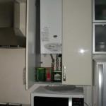 Как замаскировать газовую колонку на кухне в хрущевке