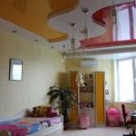 Многоуровневый потолок дизайн комнаты для мальчика