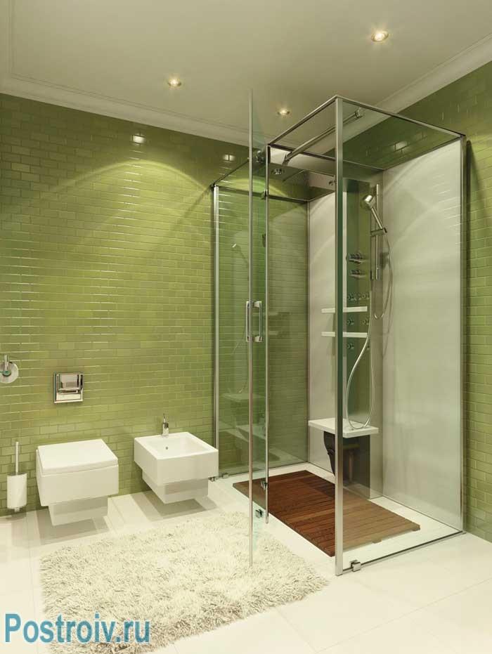 Поп-арт в ванной комнате. Фото