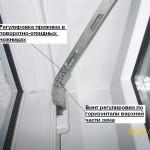 Регулировка фурнитуры пластиковой двери
