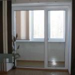 Ремонт пластиковых балконных дверей