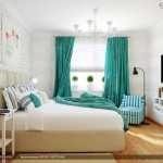 Дизайн плотных штор для окна в спальне