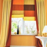 Дизайн комбинированных штор для детской спали