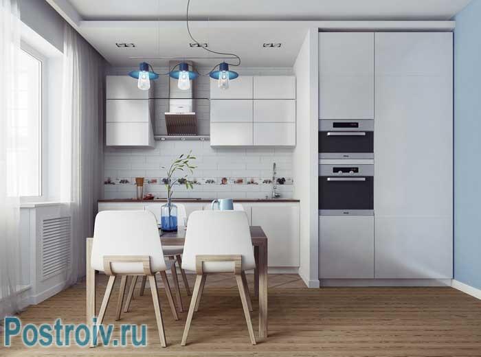 Кухня в скандинавском стиле. Фото