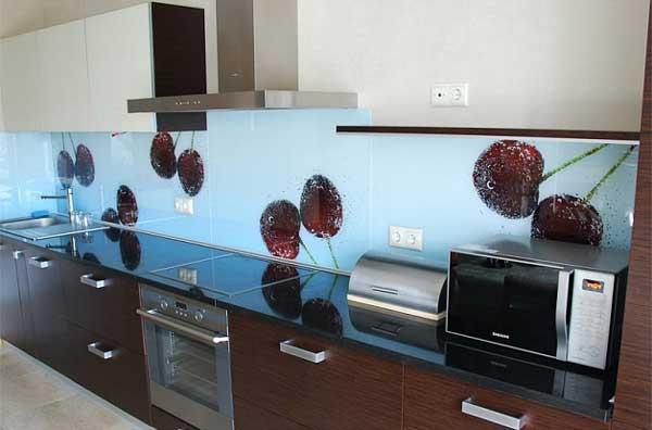 Панели для кухни скинали сделают любую кухню индивидуальной. Фото 2