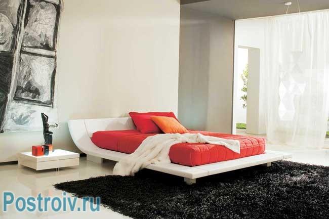 Черты минимализма в интерьере спальни в современном стиле