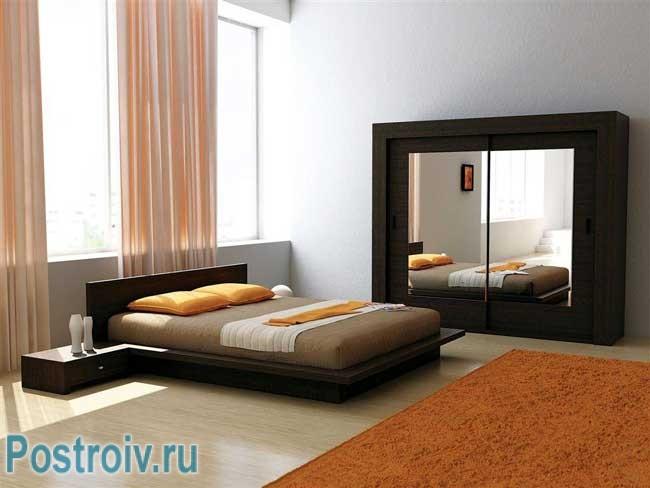 Минимализм в спальне в современном стиле