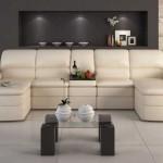 Фото углового дивана для гостиной