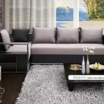 Фото угловой диван в интерьере гостиной