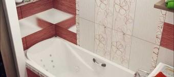 Дизайн ванной 5 кв.м. совмещенной с туалетом со стиральной машинкой