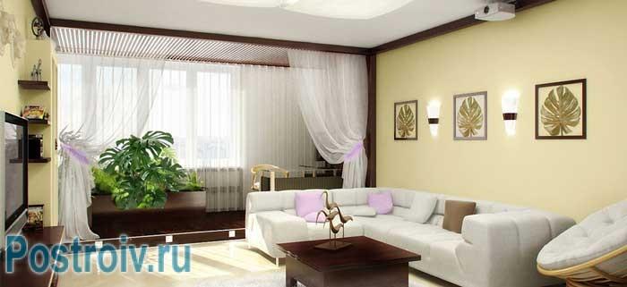 Правильно расставляем мебель в гостиной своими силами