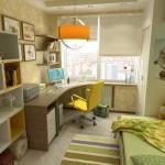 Как расставить мебель в детской. Разделение зон на рабочую и зону отдыха