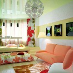 Как расставить мебель в детской. Светлая комната в современном стиле