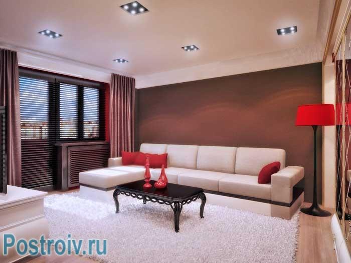 Как расставить мебель в гостиной если хочется сделать обеденную зону