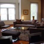 Как расставить мебель в комнате: круговой способ