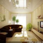 Как расставить мебель в маленькой гостиной