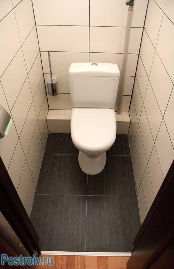 Фото дизайна туалета маленького размера