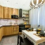 Зонирование пространства кухни: выделение рабочей зоны - Фото