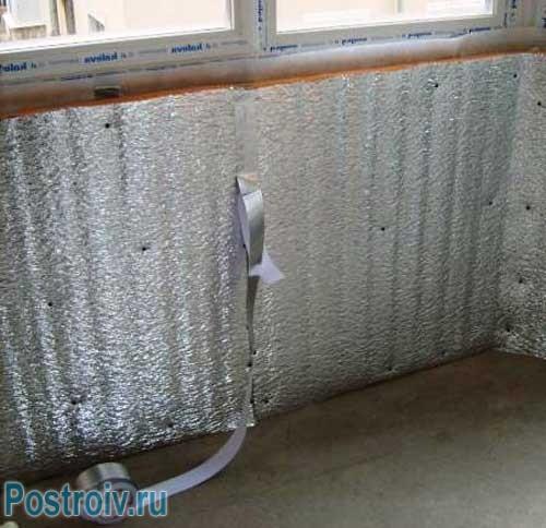 Как утеплять стены на балконе самостоятельно - Фото
